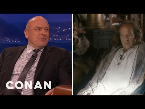 "Dean Norris: Ben Franklin Was ""Justin Bieber With Brains""  - CONAN on TBS"