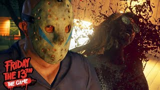 HUNTING DOWN NEW SURVIVORS AS A NEW JASON!    Friday The 13th The Game (NEW UPDATE)
