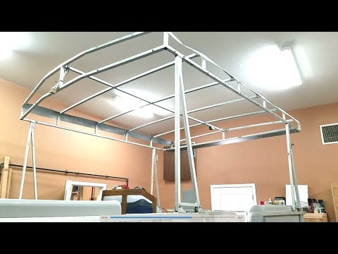 Craigslist Pontoon Boat: Top Installation & DIY Upholstery