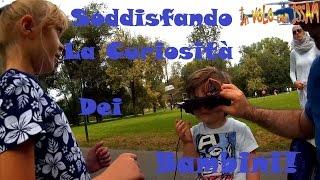 La curiosità dei Bambini! FPV Al Parco Lambro