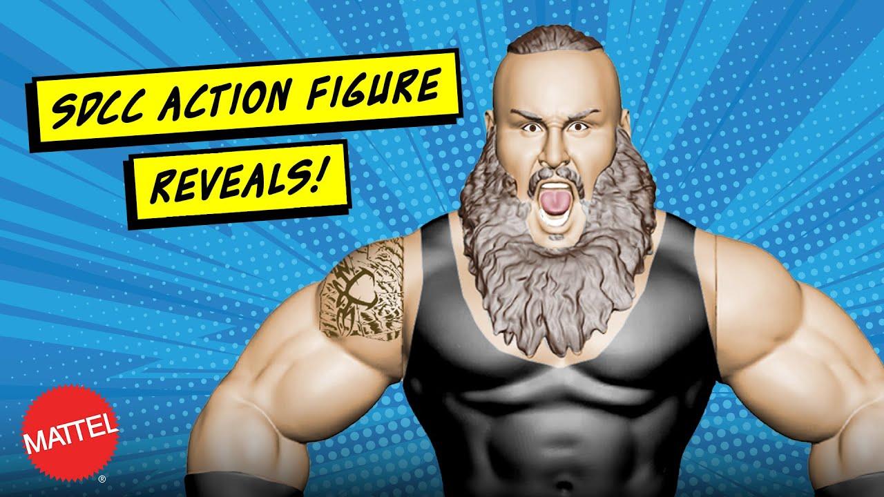 Mattel's monstrous figure reveals at San Diego Comic-Con 2018