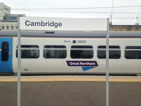 Full Journey On Great Northern (Class 365) From Cambridge To London King's Cross (semi-fast)