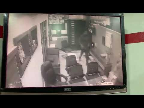 CCTV : Shashi sharma attack in jalandhar