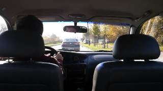 Daewoo Leganza Test Drive 2
