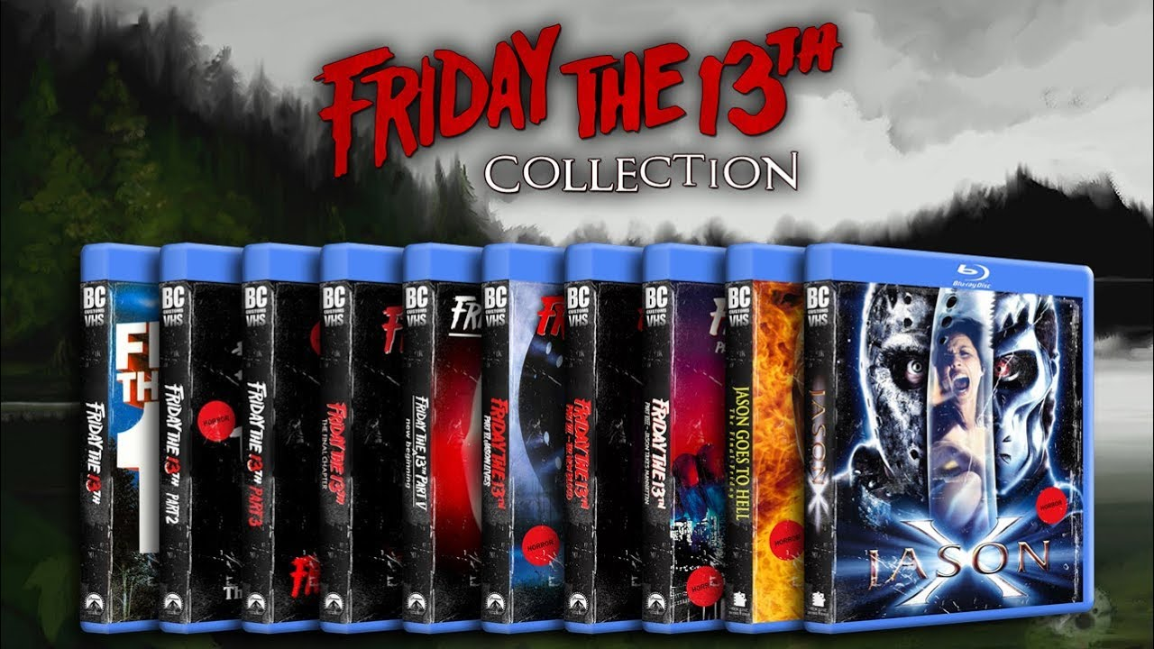 friday the 13th complete bluray collection individual