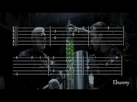 Hans Zimmer - The Rock Theme OST (Full Tab for One Guitar) Tabs Fingerstyle Soundtrack How to Play
