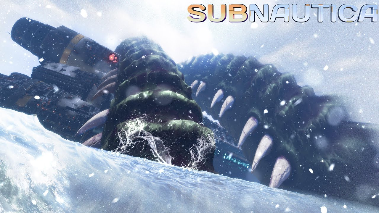 Even THIS Void Leviathan Has Secrets.. - Exploring the Kraken & Cthulhu! - Subnautica Modded
