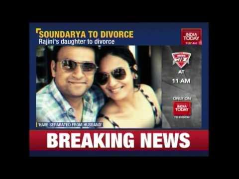 Rajinikanth's Daughter Soundarya Confirms Her Divorce