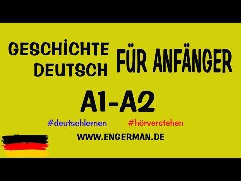 Geschichte für Anfänger | Deutsch lernen