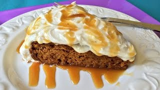 Crock Pot Pumpkin Spice Cake - How to Make Cake in a Slow Cooker