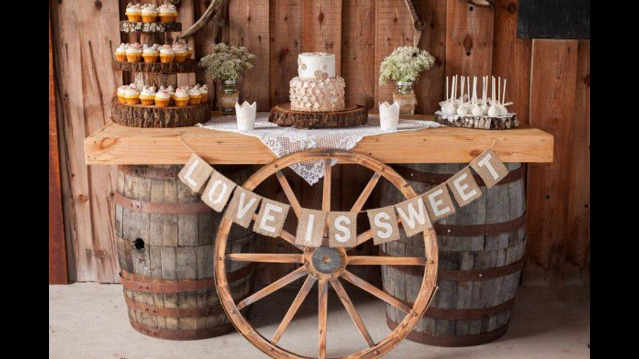 Fall Wedding Outdoor Decorations