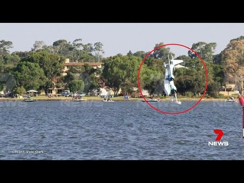 Perth Plane Crash During Australia Day Airshow!