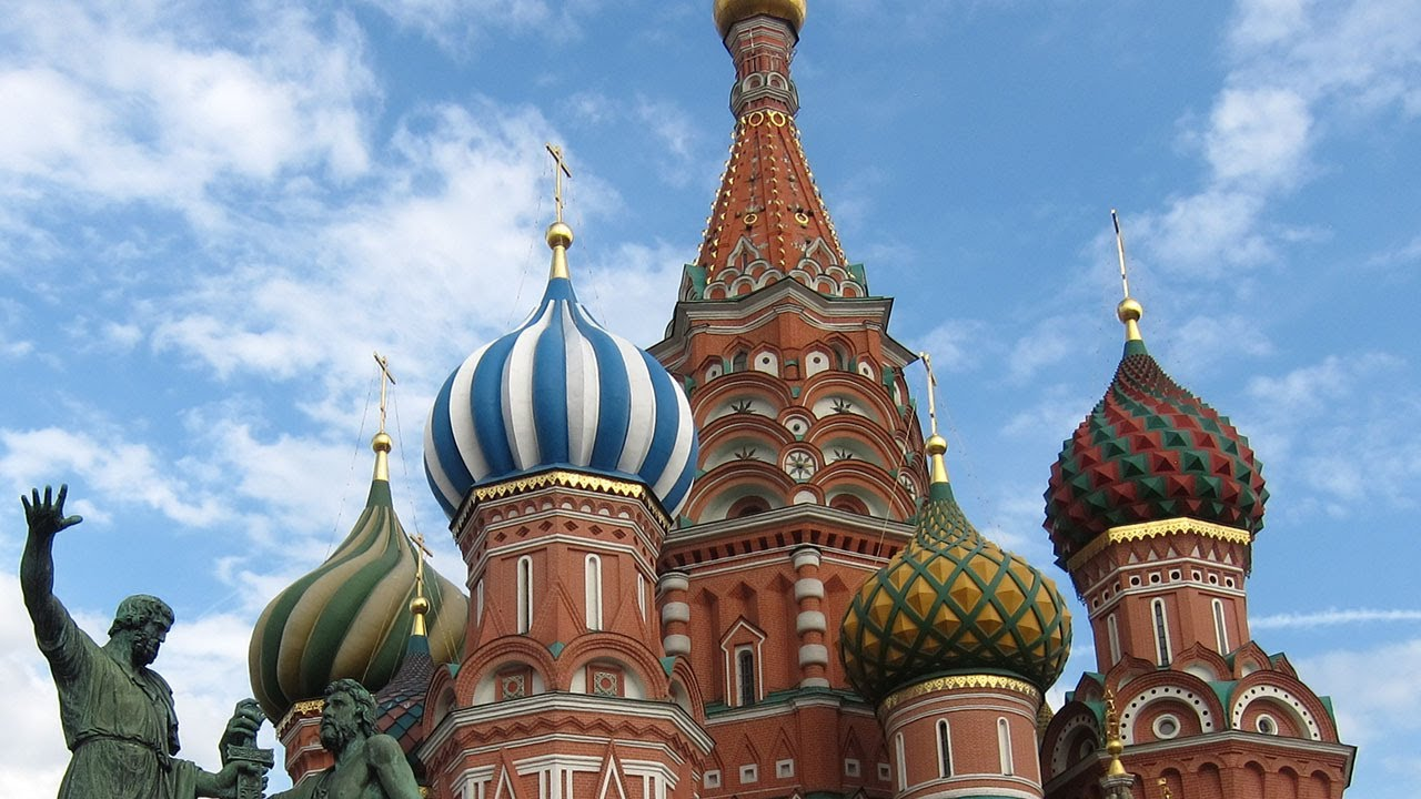 Saint Basil Cathedral in Moscow, Russia, 2012 - YouTube