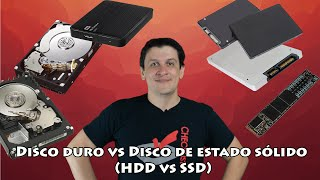 Disco duro vs Disco de estado sólido HDD vs SSD
