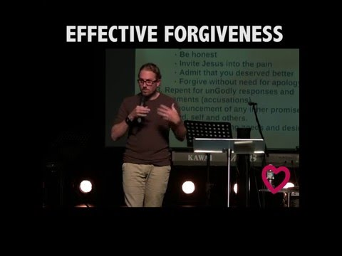 EFFECTIVE FORGIVENESS - THIS WILL BLESS YOU (OR SHOCK YOU)