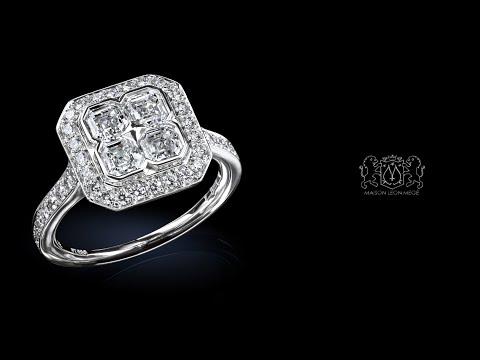 Place Vendome™ ring by Leon Megé r7370