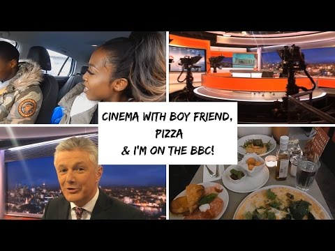 VLOG 4: CINEMA WITH BOY FRIEND, PIZZAS & I'M ON THE BBC!