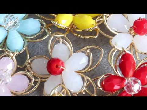 GUFEATHER,jewelry accessories,diy beads flower,copper metal,handmade,jewelry findings,jewelry making