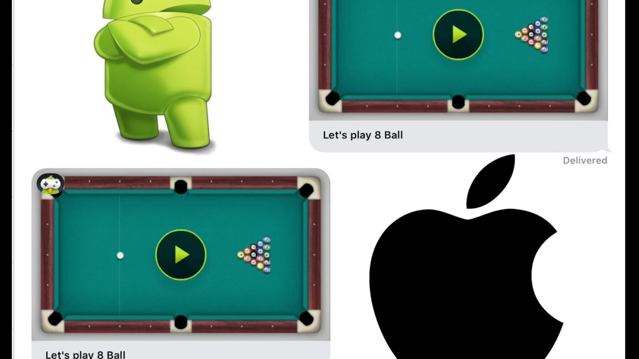 How to play iMessage games on Android