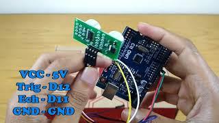 US-015 Ultrasonic Module Distance Measuring Transducer Sensor Dc 5V ux
