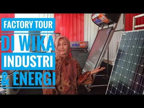 Factory Tour di WIKA Industri & Energi, Cileungsi-Bogor (Vlog#8)