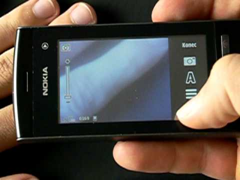 Nokia 5250 - fotoaparát