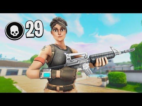 29 Kill Solo Vs. Squad | Controller on PC
