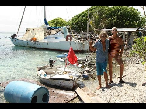 Lydéric - the French castaway on Millennium Atoll