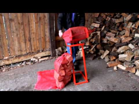 sale online official photos top brands LMS Firewood Logbagger - a Log Bagger to get firewood logs ...