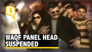 Waqf Panel Chairman Caught Dancing with Women Dancers, Suspended