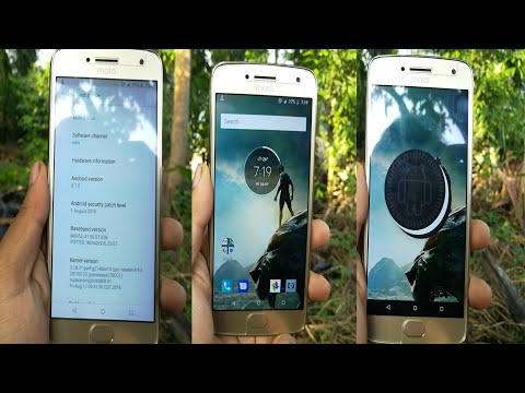 How To Update Manually Moto G5 Plus To Official Oreo Build Without Root |SDATech|