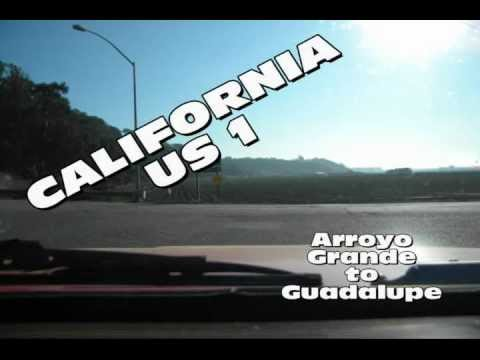 Time Lapse Travel Photography California Highway 1 Arroyo Grande to Guadalupe