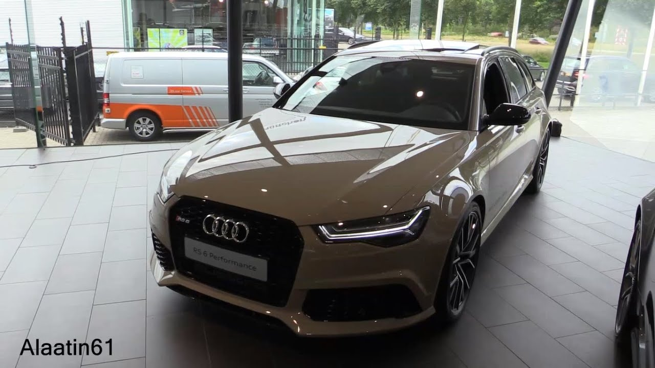 2017 Audi Rs6 Performance Start Up In Depth Review Interior