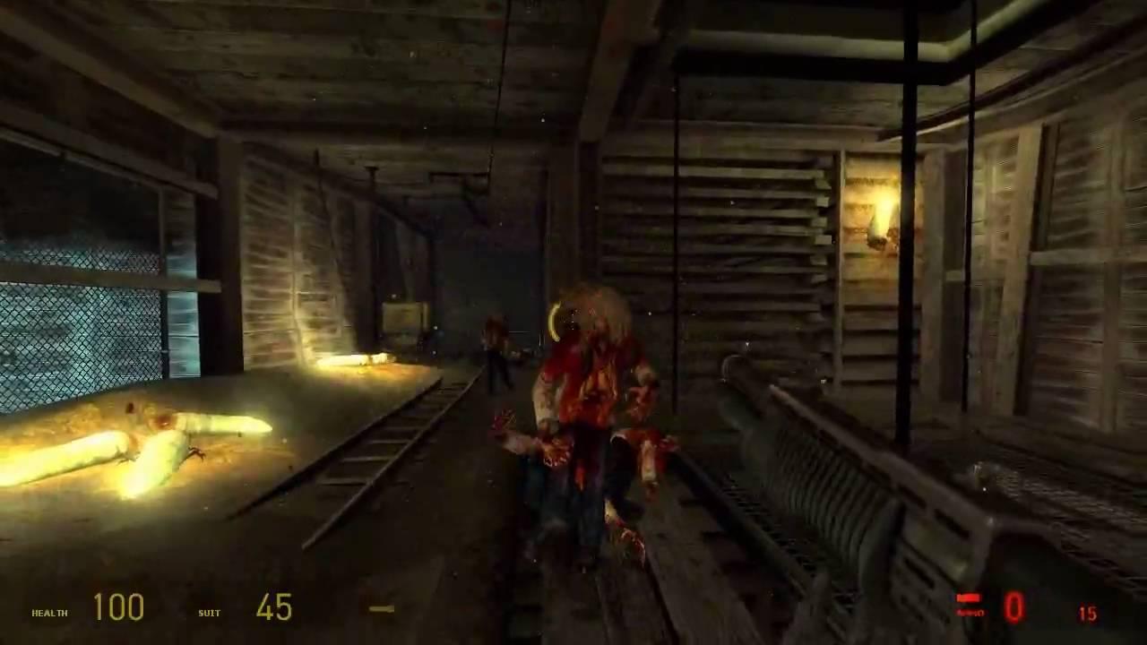 Half-Life 2 - Walkthrough #5 (No Commentary) - YouTube