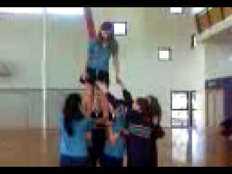 cheerleading  AT CGSC