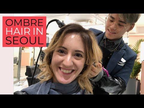 Смотреть Dyeing My Hair Ombré at a Korean Hair Salon онлайн
