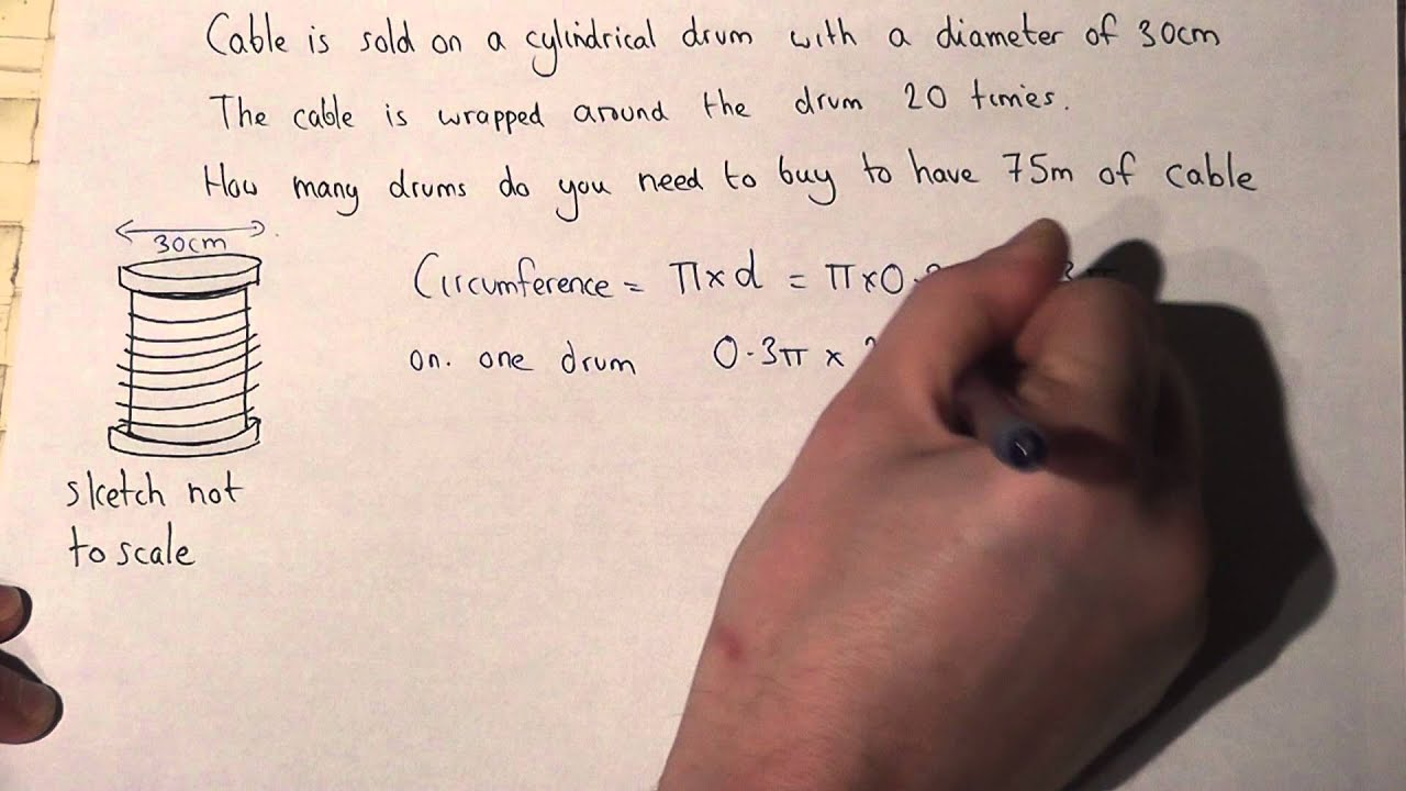 worksheet Circumference Of A Circle Worksheet With Answers solving problems involving circles and circumference youtube