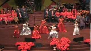 Christmas praise dancing