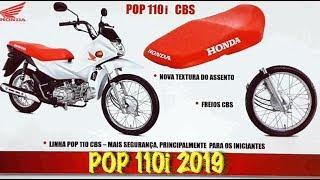 Nova Honda POP 110i 2019 com CBS!