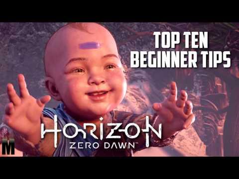 Horizon Zero Dawn: Top Ten Beginner Tips! thumbnail