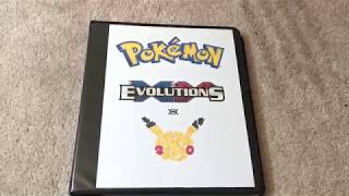Pokemon XY Evolutions -- Complete! Trading Card Sets --