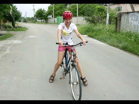 Как научить взрослого человека кататься на велосипеде