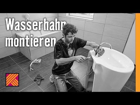 version 2013 wasserhahn montieren   hornbach meisterschmiede - youtube - Mischbatterie Küche Hornbach