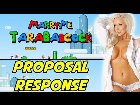 MARRY ME, TARA BABCOCK! - Proposal Response
