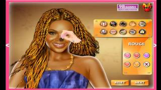 Beyonce Knowles Celebrity Makeover Celebrity Games For Kids