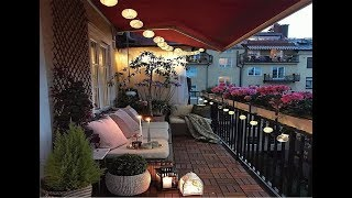 Small 2018 Apartment Balcony Decorating Ideas and Design