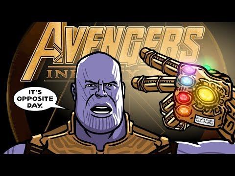 Avengers Infinity War Trailer Spoof - TOON...