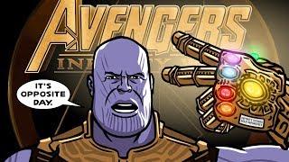Avengers Infinity Guerre Trailer Spoof - TOON SANDWICH