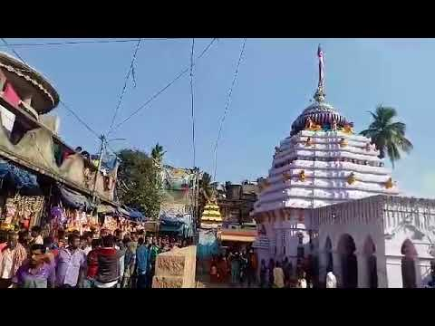 Zilla News Bhadrak MahaSivaratri At Baba Akhandalamani Temple Aradi