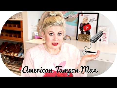 American Tampon Man   #LPStoryTime